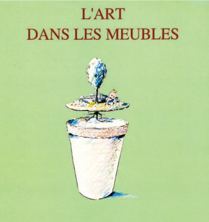 L'ART DANS LES MEUBLES_exhibition_GianniVeneziano_1988_VenezianTeam