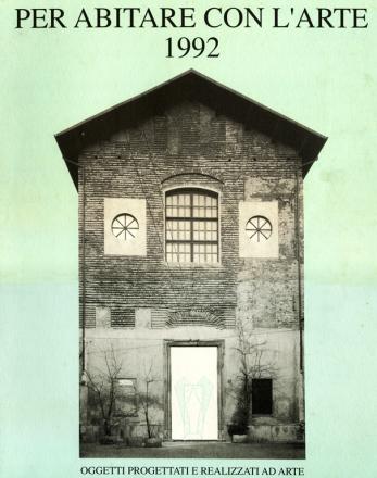 PER ABITARE CON L'ARTE_exhibition_GianniVeneziano_1992_VenezianTeam