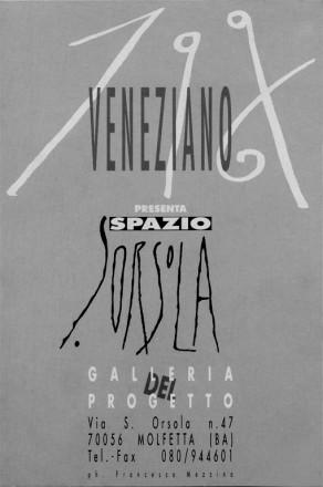 SPAZIO SANT'ORSOLA_exhibition_GianniVeneziano_1996_VenezianTeam_1