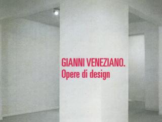 Gianni Veneziano - opere di design
