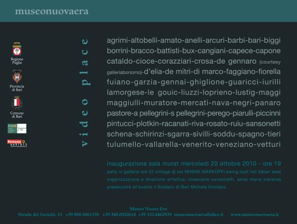 Museonuovaera - Gianni Veneziano - Luciana Di Virgilio - Veneziano+Team_retro