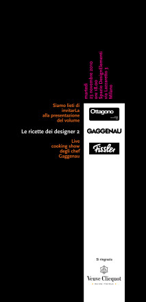 Le Ricette dei designer 2 - Veneziano+Team_retro