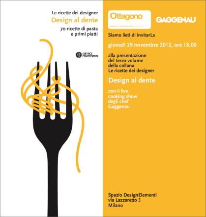 Le Ricette dei designer_Design al dente - Veneziano+Team