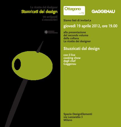 Le Ricette dei designer_Stuzzicati dal design - Veneziano+Team