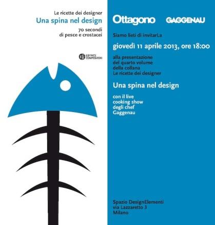 Le Ricette dei Designer – Una spina nel design_Veneziano+Team