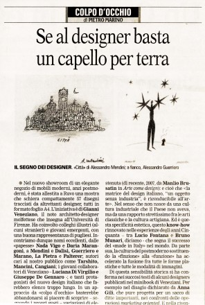 2008.02.01 Quotidiano di Bari_intervista