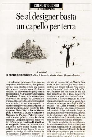 2008.02.01 Quotidiano di Bari_intervista