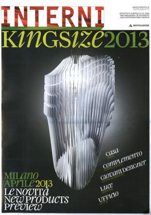 Interni-Kingsize-Luciana-Di-Virgilio-Giovani-Designer-venezianoteam-Milano-Design-Week-2013-Cover