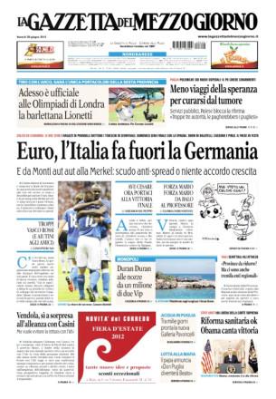 La-Gazzetta-Del-Mezzogiorno-Luciana-Di-Virgilio-Venezianoteam-Radio-Capital-Design-cover