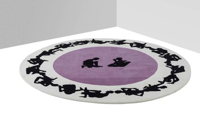 Human Circle | Paradiso - design Gianni Veneziano e Luciana Di Virgilio per Nodus Rug_3
