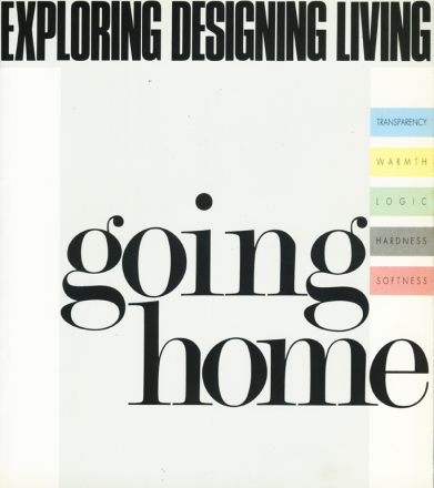 GOING HOME_exhibition_GianniVeneziano_1991_VenezianTeam