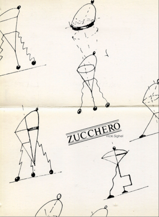 ZUCCHERO_exhibition_GianniVeneziano_1984_VenezianTeam