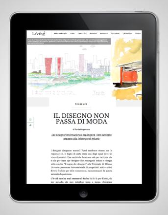 2009.12 Living Corriere_Il Segno dei Designer