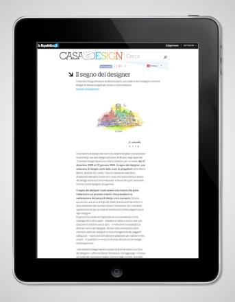 2009.12.15 Repubblica_Il Segno dei Designer