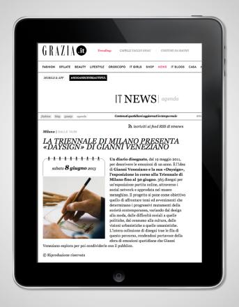 2014.06.08 Grazia_Daysign Triennale