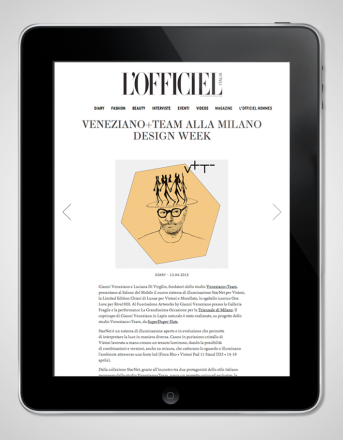 2015.04.13 LOfficiel_all Milan Design Week