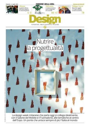 Corriere della Sera_Veneziano+Team_Cover