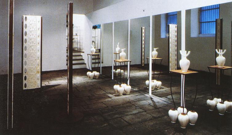 FRAGILE-AL CENTRO DEL MONDO_exhibition_GianniVeneziano_1990_VenezianTeam