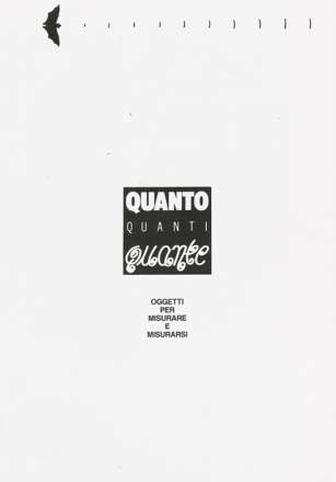 QUANTO QUANTI QUANTE_exhibition_GianniVeneziano_1993_VenezianTeam