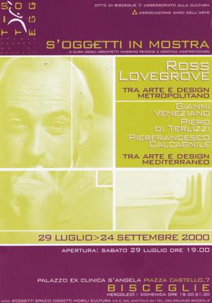S'OGGETTI IN MOSTRA_exhibition_GianniVeneziano_2000_VenezianTeam