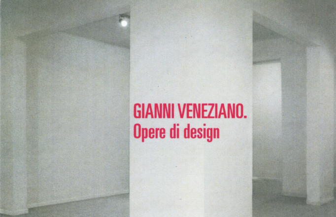 OPERE DI DESIGN_exhibition_GianniVeneziano_2007_VenezianTeam