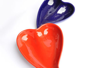 Vassoio cuore