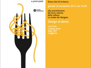 Le Ricette dei Designer – Design al dente