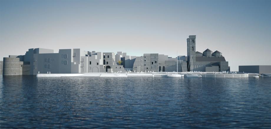 Waterfront Duomo Molfetta - Gianni Veneziano- Luciana Di Virgilio- Veneziano+Team
