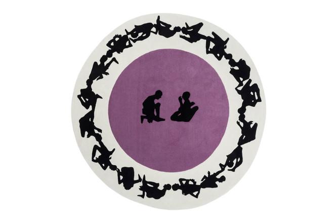 Human Circle | Paradiso - design Gianni Veneziano e Luciana Di Virgilio per Nodus Rug_1