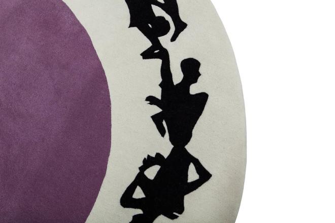 Human Circle | Paradiso - design Gianni Veneziano e Luciana Di Virgilio per Nodus Rug_2