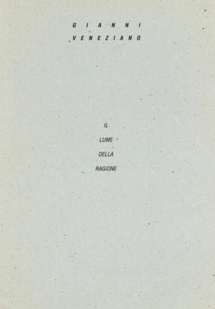 IL LUME DELLA RAGIONE_exhibition_GianniVeneziano_1993_VenezianTeam