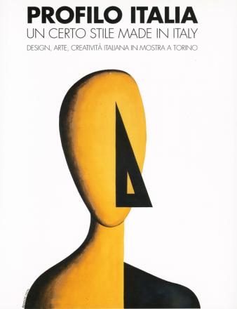 PROFILO ITALIA exhibition_GianniVeneziano_1990_VenezianTeam