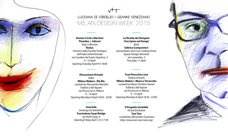 Milano Design Week 2013_Gianni Veneziano-Luciana Di Virgilio_Veneziano+Team